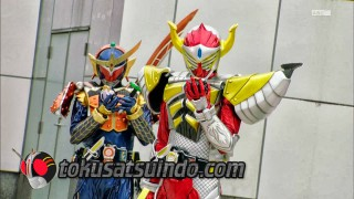 kamen Rider Gaim episode 3 sub indonesia