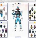 flash custom  kamen rider fourze