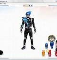 flash custom  kamen rider meteor