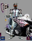 flash custom all  Kamen Rider Mach and chase
